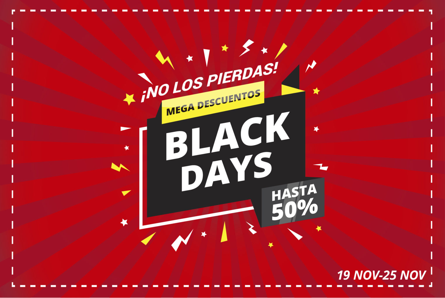 Black days optica herradores