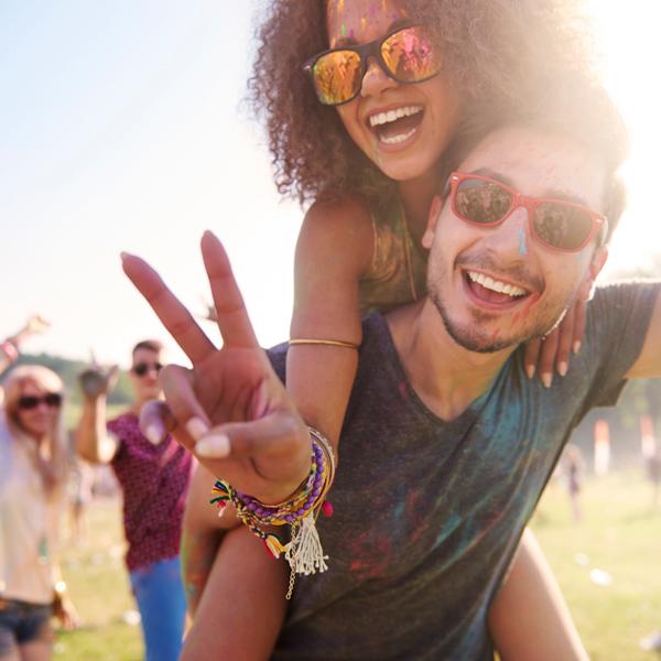 gafas para festivales en tenerife